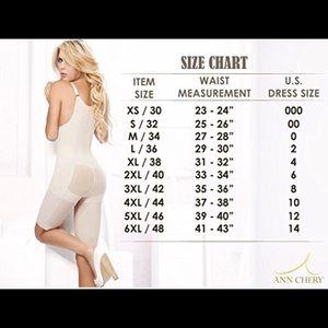 87efbb471 Ann Chery Other - Ann Chery 1018 Geraldine Bodysuit Size XXL